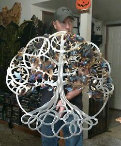Metal Tree Wall Art Tree Of Life Cottage Country Kitchen Decor Gift Idea Art Ebay