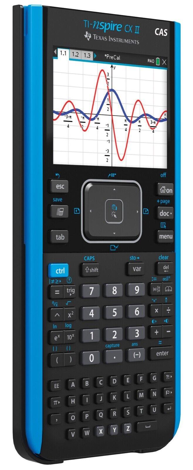 TI Nspire CX Texas Instruments Grafikrechner Color-Display Taschenrechner