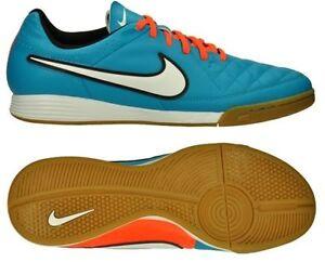 Nike TIEMPO GENIO LEATHER IC INDOOR SOCCER Scarpe Neo  C4rKBP