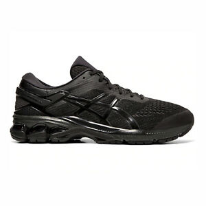 Asics Gel-Kayano 26 4E Extra Wide Black Blue Green Men Running Shoe 1011A536-003