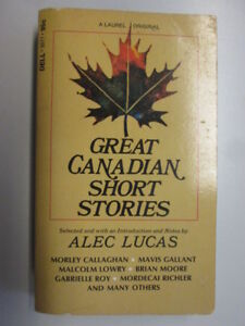 Acceptable  Great Canadian Short Stories An Anthology   19710601 Pages tann - Ammanford, United Kingdom - Acceptable  Great Canadian Short Stories An Anthology   19710601 Pages tann - Ammanford, United Kingdom