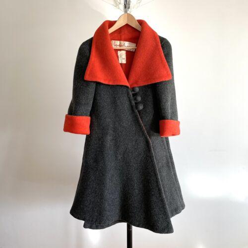 Stunning Pauline Trigere Coat Vintage Designer Cou