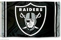 Oakland Raiders Large Nfl 3x5 Flag, New, Free Shipping on sale