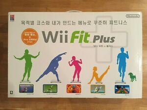 Details about NEW Nintendo Wii Fit Plus with Balance Board - Korean version