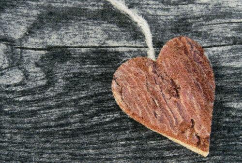 Felpudo corazón de madera 50x70 cañón limpio maletero pesca suciedad maletero felpudos türmatte