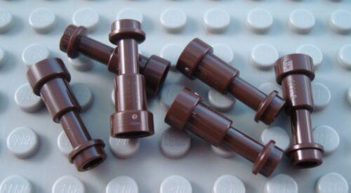 New LEGO Lot of 6 Dark Brown Minifigure Telescope Pirate Accessories