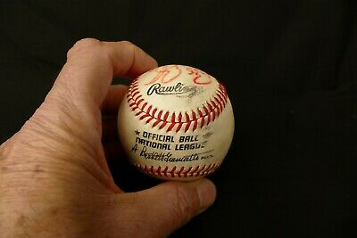 Efficient Pittsburgh Pirates Bobby Bonilla Autographed Baseball 1986 Bxb1 Baseball-mlb