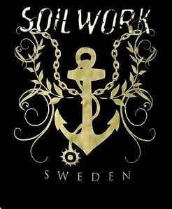 SOILWORK-cd-lgo-SWEDEN-ANCHOR-Official-SHIRT-XL-New-OOP