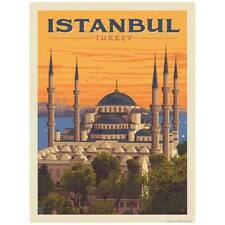 Istanbul Turkey Sultan Ahmed Mosque Decal Peel And Stick