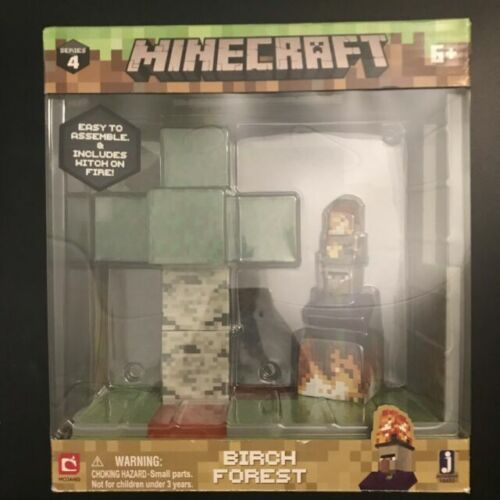 Minecraft Birch Forest Spielset Birkenwald Biom Series 4