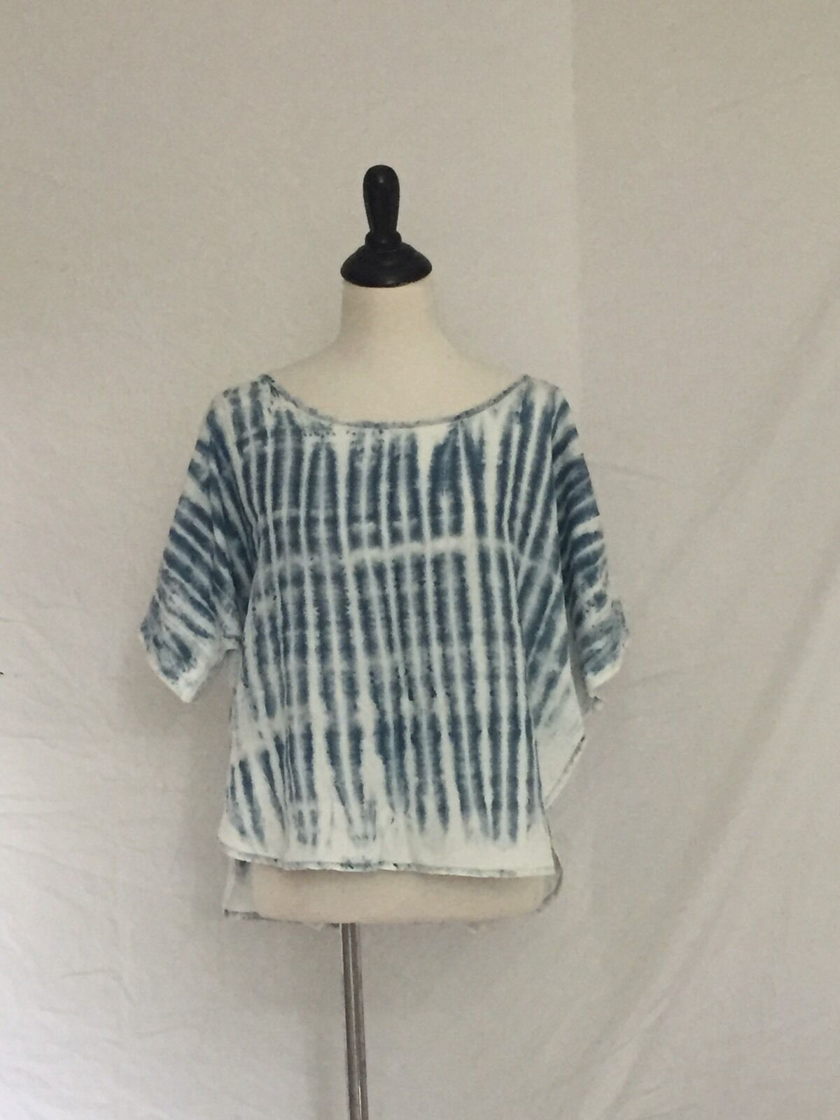 NEW Anthropologie Cloth & Stone Bella Dahl Bamboo Tie Dye Tencel Top S XS