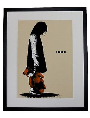 GIRL WITH TEDDY Museum Grade 310gsm Heavyweight Print DOLK High Res
