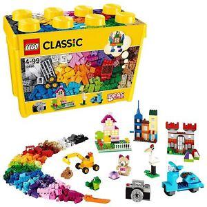 Lego 10698 Classic Large Creative Brick Box - Ensemble de rangement pour jouets