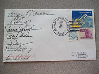 STS-40 Autographed Launch Crew Cover