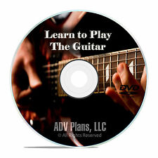 Beginner Guitar Lessons, Acoustic or Electric, Play Music Instructional DVD E94