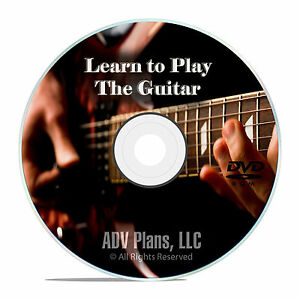 beginner guitar lessons acoustic or electric play music instructional dvd e94 ebay. Black Bedroom Furniture Sets. Home Design Ideas