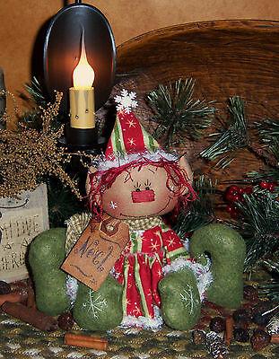 Primitive Patti's Ratties Raggedy Noel Elf Christmas Doll Paper Pattern 269