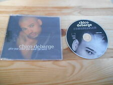 CD Pop Chico Debarge - Give You What You Want (2 Song) Promo MOTOWN sc