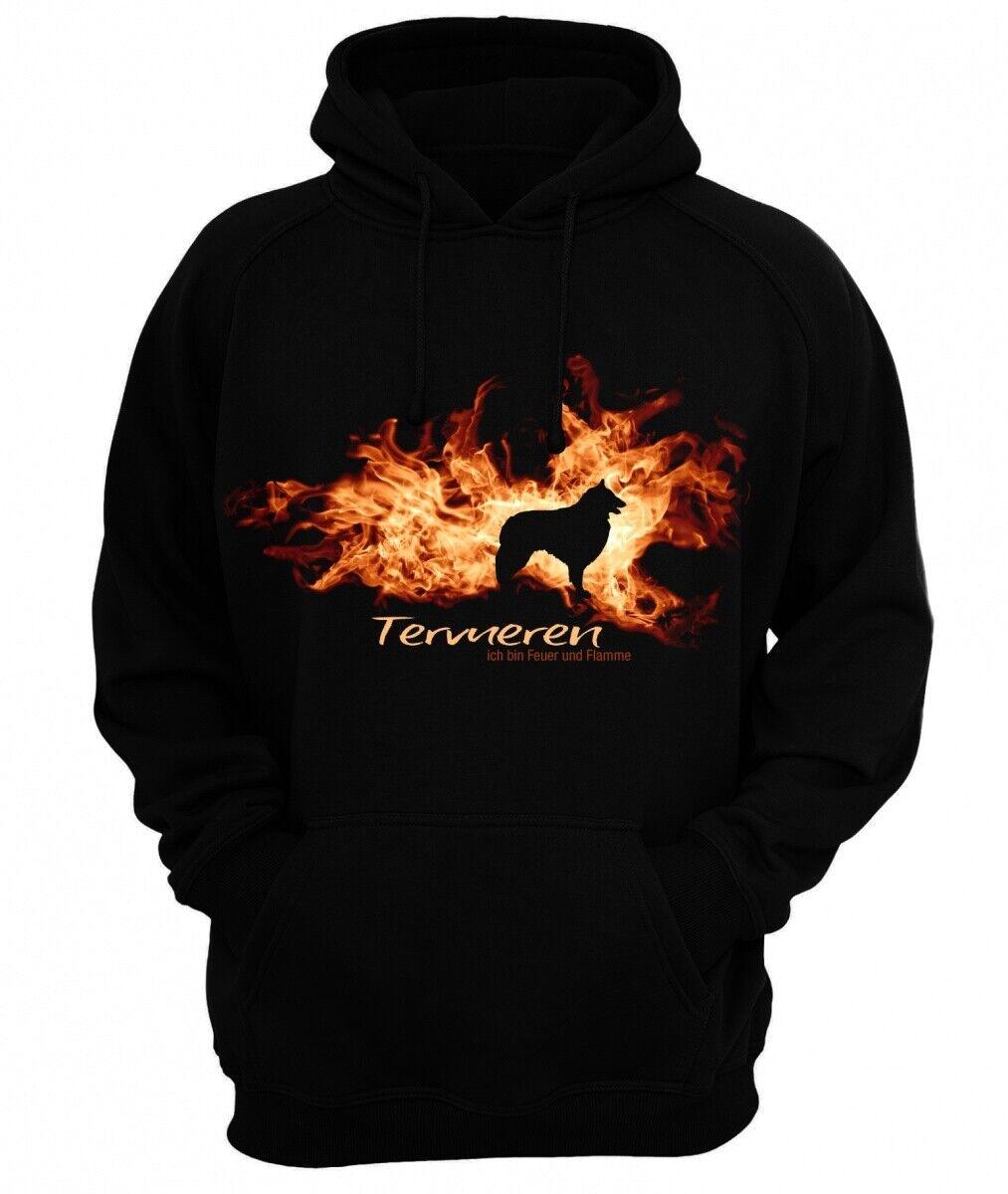 Sweatshirt TERVUEREN FEUER UND FLAMME by Siviwonder Hoodie