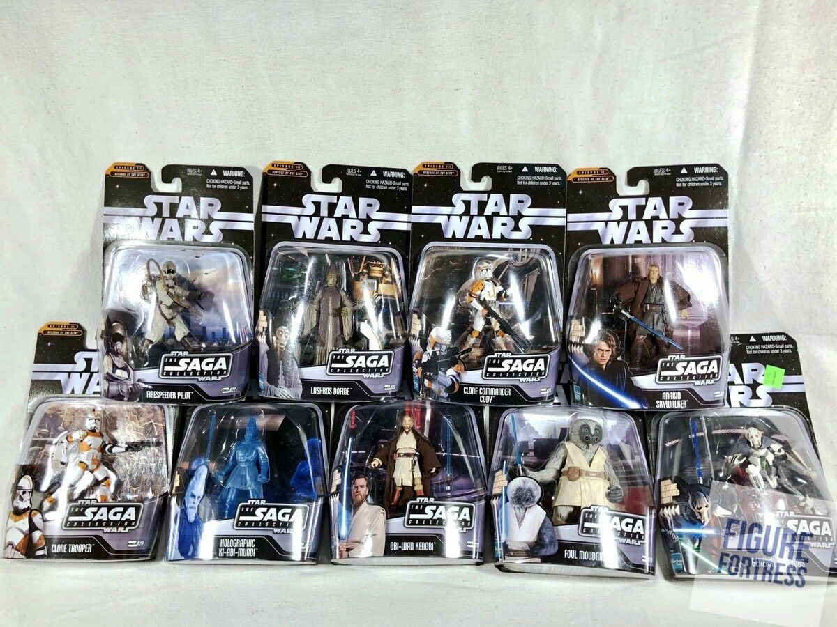 Star Wars The Saga Collection  022-030 BATTLE  OF CORUSCANT & BATTLE OF UTAPAU   prix de gros