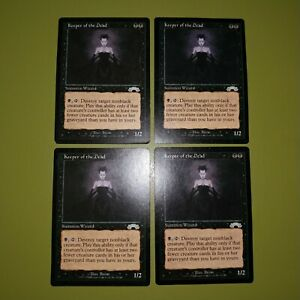 Keeper-of-the-Dead-x4-Exodus-Magic-the-Gathering-MTG-4x-Playset