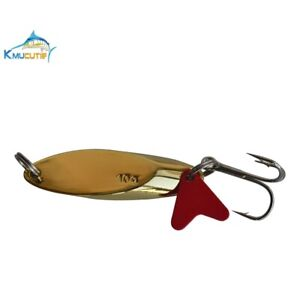 5 Colors 5 Kastmaster Style Spoons 1//4 ounce great for Trout,/& Bass