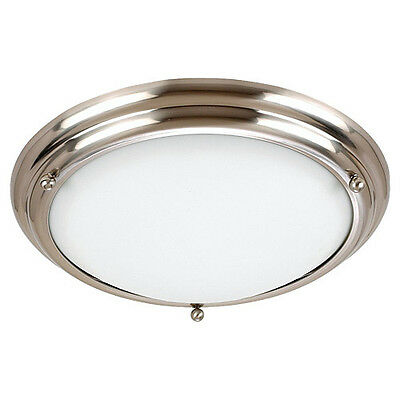 Sea Gull Lighting 77088-98 2-Light Centra Fixture, Brushed Stainless Steel