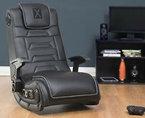 Marvelous Details About Video Gaming Chair Wireless X Rocker Ps4 Xbox1 4 1 Audio Surround Sound Black Pdpeps Interior Chair Design Pdpepsorg