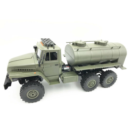für WPL B16 B24 B-36 1:16 RC Car Oil Tank Trailer Chassis Kit Remodel Zubehör