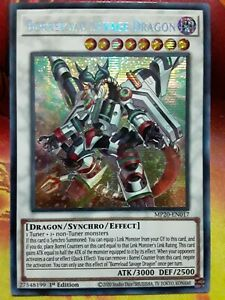 MP20-EN017 Borreload Savage Dragon Prismatic Secret Rare 1st Ed YuGiOh