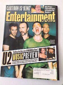 Entertainment Weekly Magazine U2 Larry Mullen Jr. May 9, 1997 031517NONRH