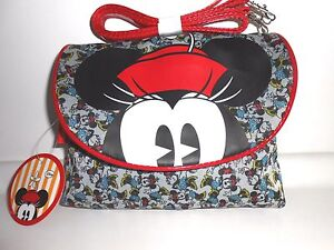 Borsa-Topolino-MINNIE-mouse-Disney-Borsetta-tracolla-bag-purse-idea-regalo
