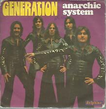 45 TOURS  ANARCHIC  SYSTEM    GENERATION