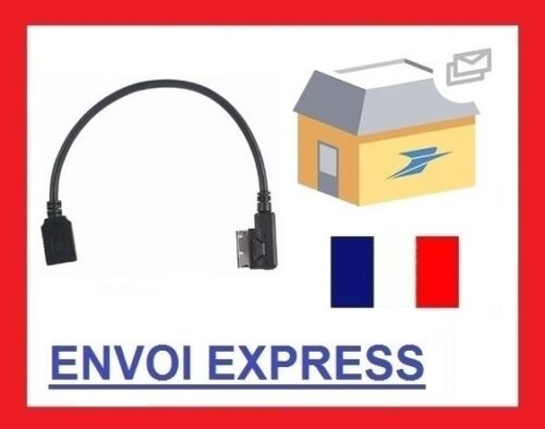 AUX MUSIC INTERFACE CABLE MERCEDES BENZ TABLET SMARTPHONE AMI MMI MDI USB