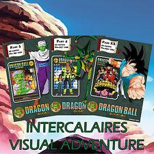 Full Set 8 Intercalaires Visual Adventure Dragon Ball - DBZ VA cartes cards