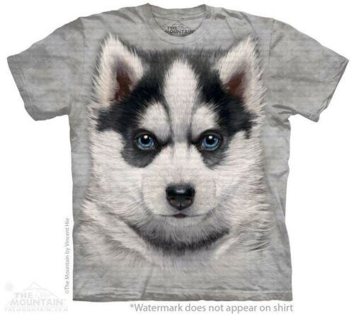 Youth Child Sizes NEW Siberian Husky Puppy Kids T-Shirt from The Mountain