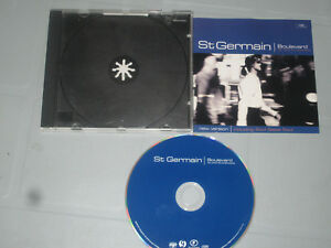 St-Germain-Boulevard-Cd-Compact-Disc-Complete-Tested