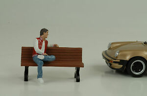 Hombre-Sentado-ADAM-FIGURA-FIGURINES-1-24-American-Diorama-N-Banco-Auto
