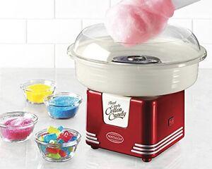 Nostalgia Cotton Candy Maker Sugar Machine Cones Hard