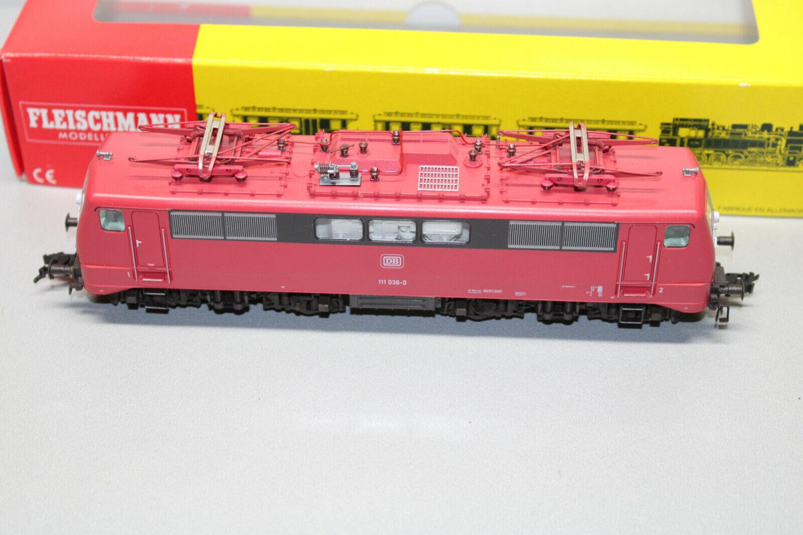 Fleischuomon 4347 Romualdo Serie Br 111 0360 DB Scala H0 Conf. Orig.