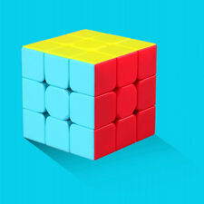 QIYI Warrior W 3x3x3 Speed Cube Puzzle Bright Stickerless Kids Brain Teaser Toys
