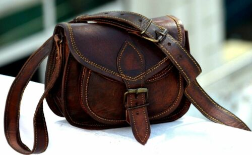 LEATHER SATCHEL SADDLE RETRO RUSTIC VINTAGE DESIGNER NEW BAG FOR WOMEN