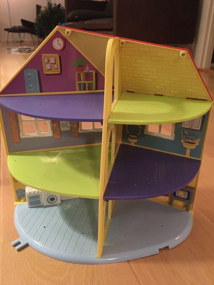 Andet legetøj, Gurli gris hus med tilbehør , Gurli gris