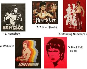 80e5b429f5d5 Mens BRUCE LEE Short Sleeve Graphic T-Shirts, 5 Styles NEW NWT ...