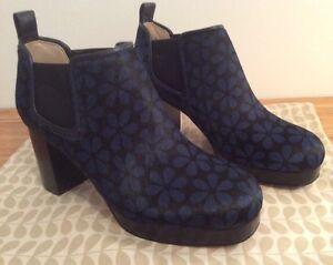 3 azules del Eur botas 35 de Reino tamaño vintage de flores Orla 5 zapatos Clarks Unido con Kiely Audrey C1wxPqf