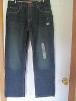 Boy's Size 16 Husky Arizona Jean Co. Original Straight Jeans, Dark Wash