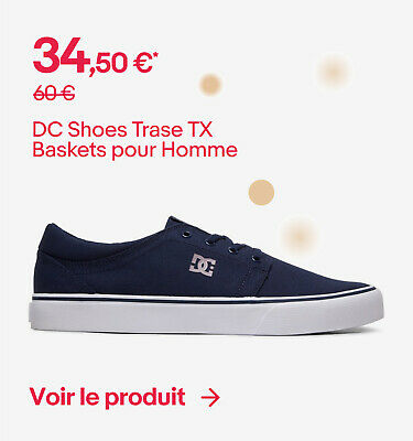 DC Shoes Trase TX - Baskets pour Homme ADYS300126 - 34,50 €*