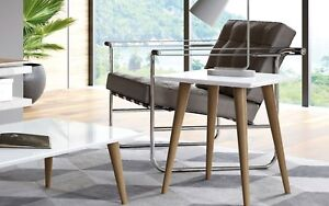 George Oliver Lemington End Table with Splayed Wooden Legs