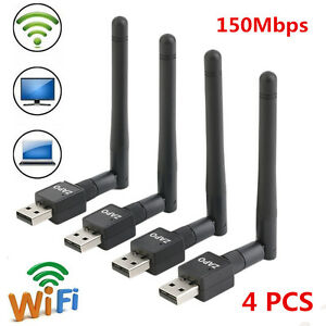 4PCS-USB-Wifi-Wireless-Network-Card-802-11-n-g-b-LAN-Adapter-Antenna-Computer