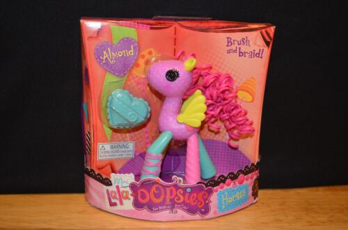 NEW Lalaloopsy MINI LALA-OOPSIES Horses Volume 1 ALMOND Pony Brush /& Braid!